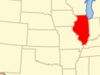 Location Of Illinois In The United States