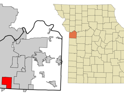 Location Of Grandview Missouri