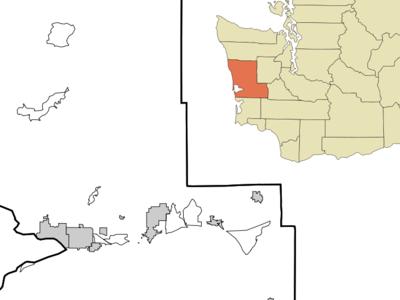 Location Of Grayland Washington