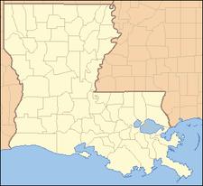 Location Of Greenwood In Louisiana