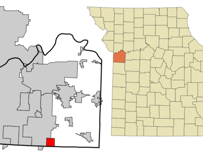 Location Of Greenwood Missouri
