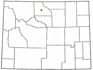 Location Of Greybull Wyoming
