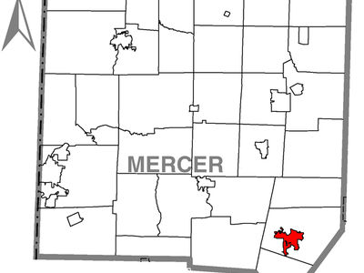 Location Of Grove City In Mercer County