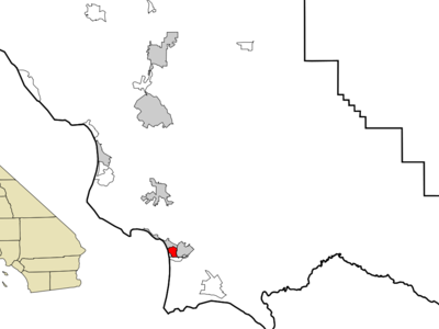 Location In San Luis Obispo County And The State Of California