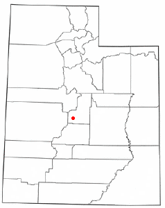 Location Of Gunnison Utah