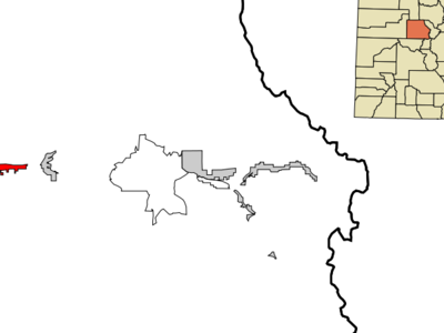 Location In Eagle County And The State Of Colorado