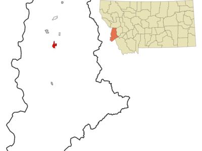 Location Of Hamilton Montana