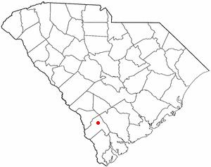Location Of Hampton South Carolina