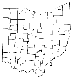 Location Of Hanover Ohio