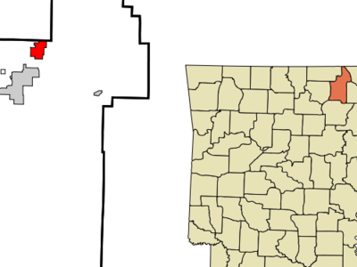 Location In Sharp County And The State Of Arkansas
