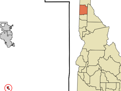 Location In Kootenai County And The State Of Idaho