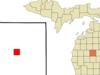 Location Of Harrison In Clare County Michigan