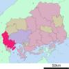 Location Of Hatsukaichi In Hiroshima