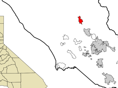 Location In Sonoma County And The State Of California