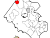 Location Of Herndon In Fairfax County Virginia