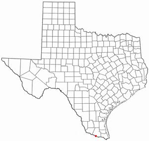Location Of Hidalgo Texas