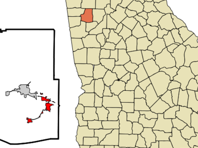 Location In Paulding County And The State Of Georgia