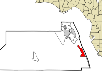 Location In Martin County And The State Of Florida
