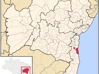 Location Of Ilhus