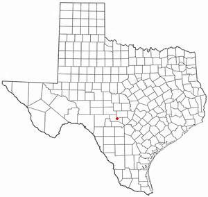 Location Of Ingram Texas