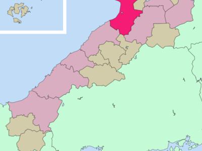 Location Of Izumo In Shimane