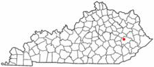 Location Of Jackson Kentucky