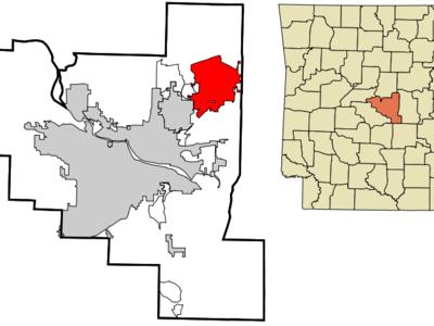 Location Of Jacksonville In Arkansas