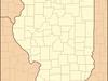 Location Of Jacksonville Within Illinois