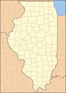 Location Of Jacksonville Within Illinois
