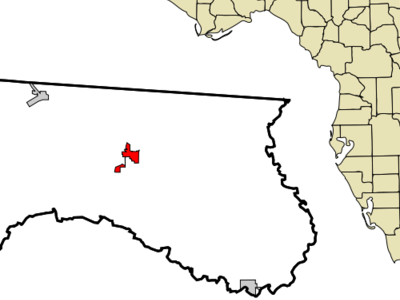 Location In Hamilton County And The State Of Florida