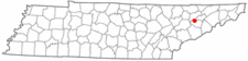 Location Of Jefferson City Tennessee