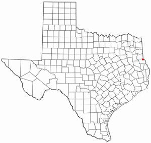 Location Of Joaquin Texas