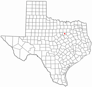 Location Of Keene Texas