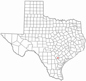 Location Of Kenedy Texas
