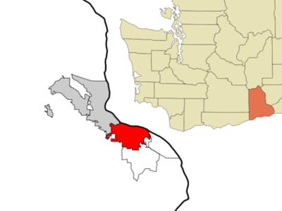 Location Of Kennewick Washington
