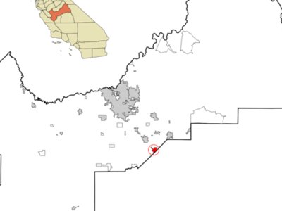 Location In The State Of California