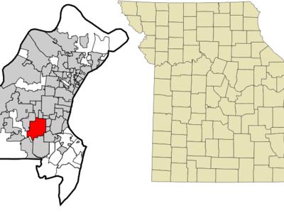 Location Of Kirkwood Missouri