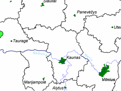 Location Of Klaipda County