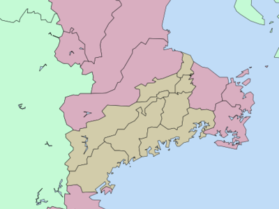 Location Of Kuwana In Mie