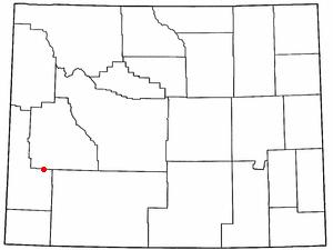 Location Of La Barge Wyoming