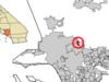 Location Of La Crescenta Montrose In Los Angeles County Californ