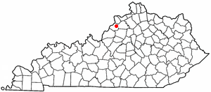 Location Of Lagrange Kentucky