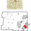 Location In Boulder County And The State Of Colorado
