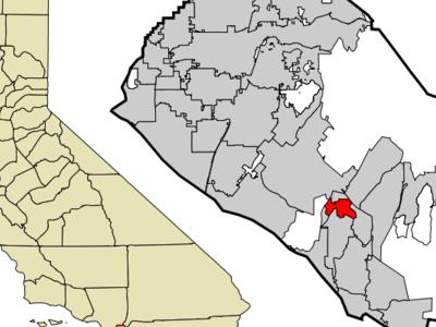 Location Of Laguna Woods Within Orange County California.