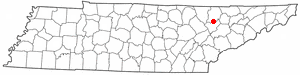 Location Of Lake City Tennessee