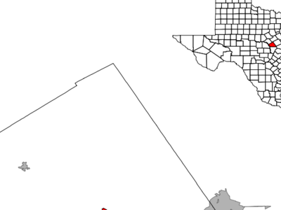 Location Of Lampasas Texas