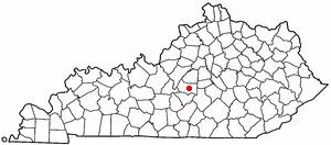 Location Of Lebanon Kentucky