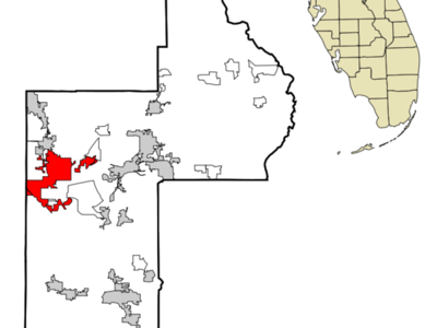 Location In Lake County And The State Of Florida
