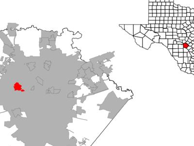 Location Of Leon Valley Texas