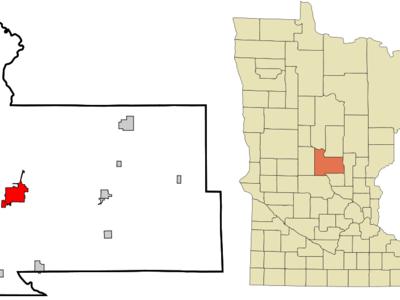 Location Of Little Falls Minnesota